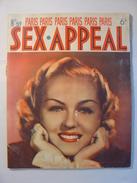 SEX APPEAL PARIS N°59 De JUIN 1938 - ANDRE SALMON - BOUSBIR ALGER - NU - COQUIN - LOUIS SAUREL - CLAUDE MARSEY - BAZAL - Livres, BD, Revues