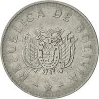 Bolivie, 10 Centavos, 1991, TTB+, Stainless Steel, KM:202 - Bolivie