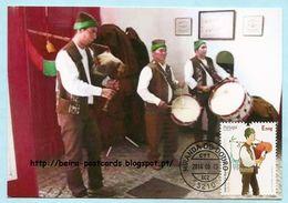 PORTUGAL - EUROPA CEPT 2014 MUSIQUE CARTE MAXIMUM - MUSIQUE 2014 MAXIMUM CARD - Maximumkaarten