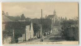 27409 - HARTENNES ET TAUX - RUE ET EGLISE DE - France