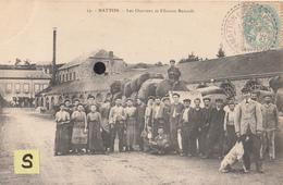 MATTON  - Les Ouvriers Et Filature Renault - N°19 - France