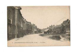 ANGLESQUEVILLE-SUR-SAANE (S-Inf.).  -  La Place. - France
