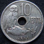 Greece 10 Lepta 1912 - Grecia