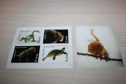 Fauna Birds Turtles Frogs  2017 Palau National Geographic - Stamps