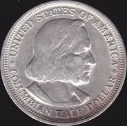 Etats-Unis, Half Dollar 1893 - Argent / Silver - Émissions Fédérales