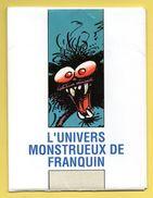 Pochette Illustrée L'Univers Monstrueux De Franquin Avec 8 Cartes. Spirou Magazine 1989. Voir Descriptions - Comics