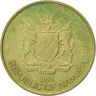 Namibia, Dollar, 1993, TTB, Laiton, KM:4 - Namibie