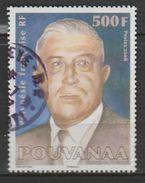 "POLYNÉSIE -FRANÇAISE , N° 834 ""POUVANAA"" - Usados"