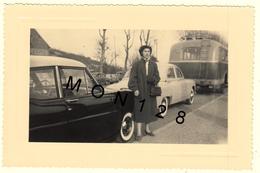 AUTOMOBILES PONTIAC ? , DAUPHINE , AUTOCAR -  PHOTO ORIGINALE 13,5x9 Cms - Automobiles