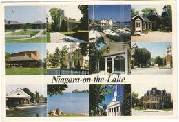 CANADA - 1991 - 80 Peary Caribou + Flamme - Niagara-on-the-Lake - Multivues - Viaggiata Da ???? Per Sanary-sur-Mer, Fra - Chutes Du Niagara