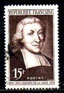 FRANCE. N°882 Oblitéré De 1951. Saint Jean-Baptiste De La Salle. - Used Stamps