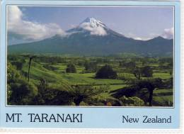 NEW ZEALAND - MT. TARANAKI, Volcano, Vulcano, Panorama, Nice Stamp, Large Format - New Zealand