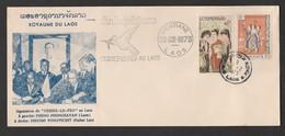 """Signataires """"CESSEZ LE FEU AU LAOS""""  1973  Pathet Lao   Réf: M621 - Laos"""