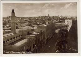 TRIPOLI - LIBYE LIBIA LIBYEN LIBYA Libya - Panorama Citta Vecchia, Old Town   1938 MINARET - Libye