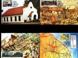 RSA, 1988, Mint Maxi Cards, MI Nr. 83-86,  Great Trek - Covers & Documents