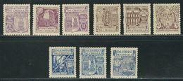 ESPAGNE N° 730 à 738 ** - 1931-Today: 2nd Rep - ... Juan Carlos I