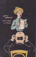 ARRETEZ MADEMOISELLE VOUS ME CASSEZ LES OREILLES - Künstlerkarten