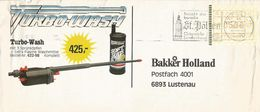 Österreich Austria 1990 St Polten ATM FRAMA 5 Shilling Cover - Marcofilie - EMA (Print Machine)