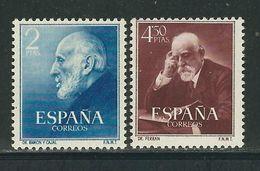 ESPAGNE N° 832 & 833 ** - 1931-Today: 2nd Rep - ... Juan Carlos I