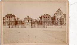 Photo Cartonnée Du Chateau De Versailles (16,5 Cm Sur 11cm) - Lieux