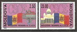 Moldawien 1992 // Michel 41/42 ** (3345) - Moldawien (Moldau)
