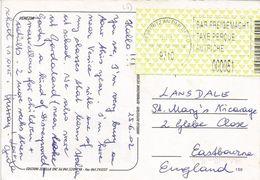 Österreich Austria 2002 Freistritz An Der Drag 9710 ID:1 Barcoded EMA Postage Paid Venezia Viewcard - Marcofilie - EMA (Print Machine)