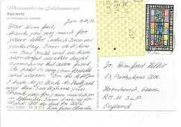 Österreich Austria 2002 Bad Ischl 4820 ID:5 Barcoded EMA Postage Paid Viewcard - Marcofilie - EMA (Print Machine)