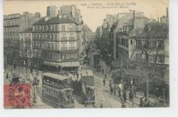 PARIS - XIVème Arrondissement - Rue De La Gaité , Prise De L'Avenue Du Maine - Arrondissement: 14