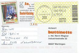 Österreich Austria 1999 Stockerau 2000 ID:3 Barcoded EMA Postage Paid Card - Marcofilie - EMA (Print Machine)
