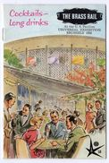 BRUXELLES EXPO 1958 - The Brass Rail - Bourbons - Gin GORDON - VAT 69 - MARTELL - SMIRNOFF - RICARD - NOILLY - MOËT - Alcools