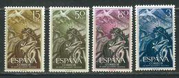 ESPAGNE N° 878 à 881 ** - 1931-Today: 2nd Rep - ... Juan Carlos I