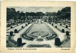 GERMANIA  BADEN-WURTTEMBERG  STUTTGART  Stadt Der Auslandsdeutschen  Rosengarten - Stuttgart