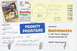 Österreich Austria 1999 Klagenfurt 9010 ID:4 Barcoded EMA Postage Paid Card - Marcofilie - EMA (Print Machine)
