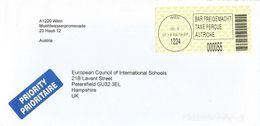 Österreich Austria 2003 Wien 1224 ID:3 Barcoded EMA Postage Paid Cover - Marcofilie - EMA (Print Machine)