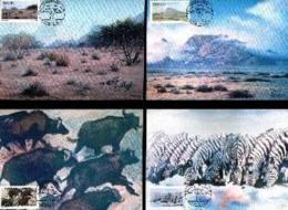 SWA, 1983, Mint Maxi Cards, MI Nr. 1-4, Paintings - South West Africa (1923-1990)