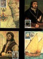 SWA, 1988, Mint Maxi Cards, MI Nr.62-65, Bartelomeus Diaz - South West Africa (1923-1990)