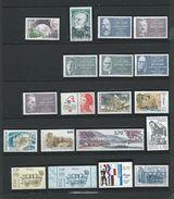 FRANCE - ANNEE 1987 - Tous Les Timbres Du N° 2452 Au N° 2500 - 50 Timbres Neufs Luxe (détail Dans Le Descriptif). - 1980-1989