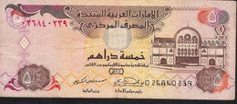U.A.E. P19a  5 DIRHAMS  2000  FIRST DATE  FINE 1 P.h. ! - Emiratos Arabes Unidos
