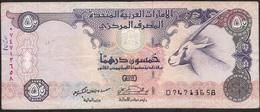 U.A.E. P22  50 DIRHAMS  1998 FINE Writtings & 1 P.h. ! - Emirats Arabes Unis