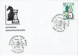 Schaken Schach Chess échecs Ajedrez - Belgie - Kontich 15.10.1983 - Echecs