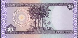 IRAQ P90  50 DINARS 2003   UNC. - Iraq