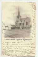 Meise - Meysse   * L'Eglise De Meysse - Statue Du Baron D'Hoogvorst - Meise