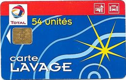 CARTE DE LAVAGE TOTAL - Frankrijk