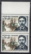 FRANCE 1966 - PAIRE Y.T. N° 1472  - NEUFS** /Y131 - Unused Stamps