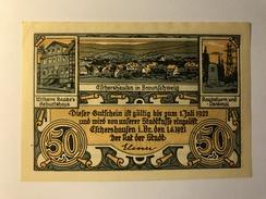 Allemagne Notgeld Eschershausen 50 Pfennig - [ 3] 1918-1933 : République De Weimar