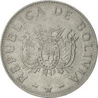 Bolivie, 50 Centavos, 1991, TTB+, Stainless Steel, KM:204 - Bolivie