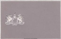 London England City Motto Crest 'Domine Dirige Nos', Artist Image On C1900s Vintage Embossed Postcard - London