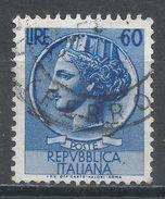 Italy 1953. Scott #632 (U) ''Italia'' After Syracusean Coin. - 1946-60: Afgestempeld