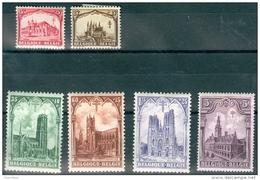 N° 267-272   X 1928 - Belgique