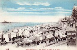BLANKENBERGHE  - La Digue , La Plage Et Le Pier - Blankenberge
